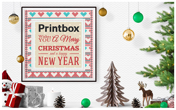 Printbox wishes you a merry christmas