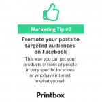 Promote your posts to targeted audiences on Facebook
