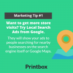 Try local Search Ads from Google