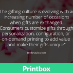 Gifting culture