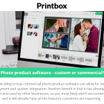 Photo product software - custom or commercial