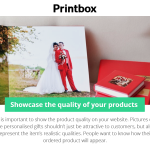 Showcase the quality of your products