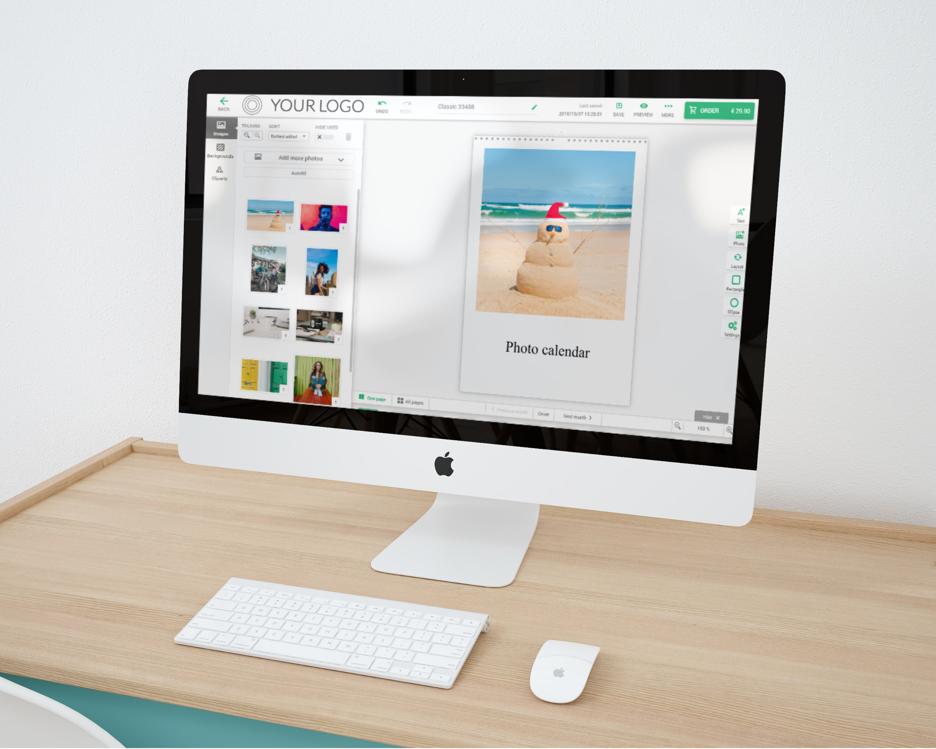 Photo Calendar Sales with the Printbox system