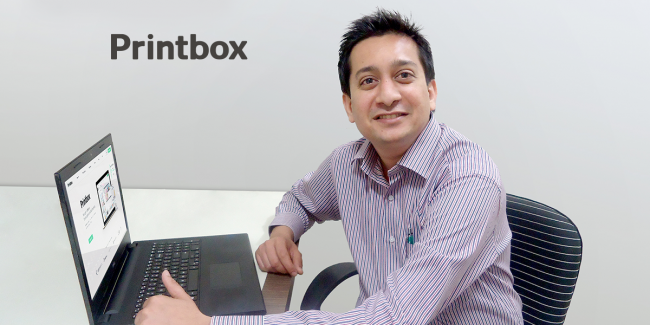 Printbox names authorized distributor for the Indian market