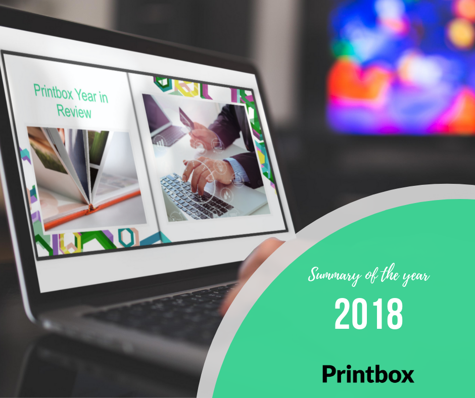 2018 year in review in Printbox