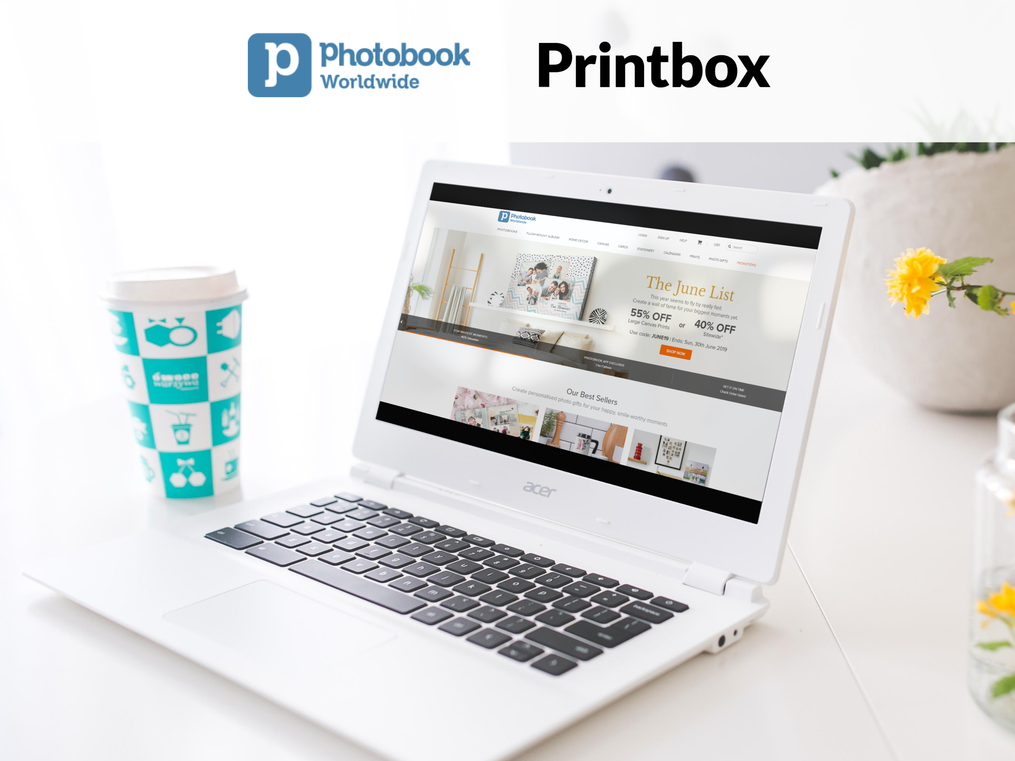 Printbox and Photobook Worldwide Press Release