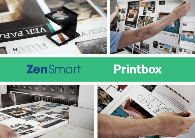 ZenSmart and Printbox cooperation