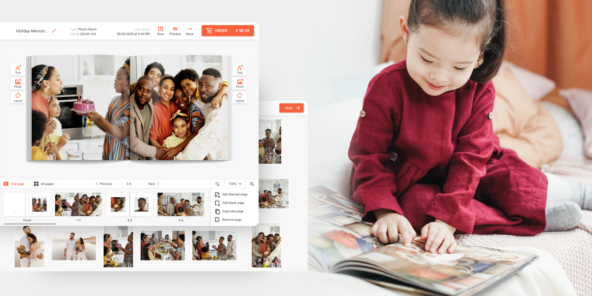 photo products software automatic photobook